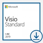 Microsoft Visio Standard 2019 Win All Languages Online Product Key License 1 License Downloadable Click to Run ESD NR