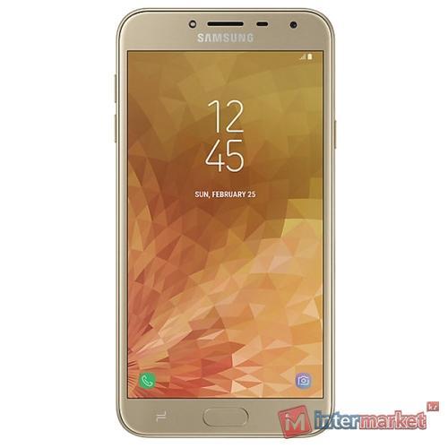 Смартфон Samsung Galaxy J4 (2018) 32GB, Gold
