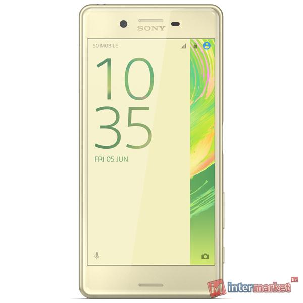 Смартфон Sony Xperia X Performance Dual, Lime Gold