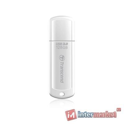 USB Флеш 128GB 3.0 Transcend TS128GJF730 белый
